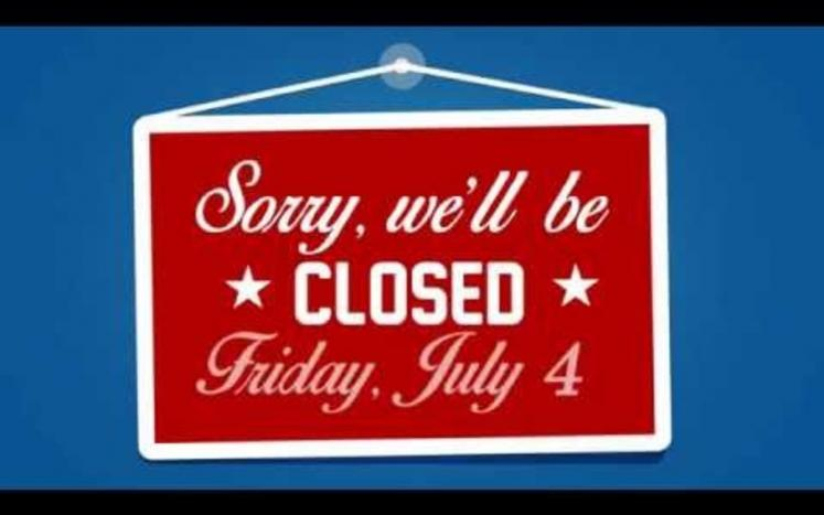 Transfer Station is Closed July 4, 2020- Extended hours: Wednesday July 1st 4:30pm-8:00pm & Wednesday July 8th 4:30pm-8:00pm